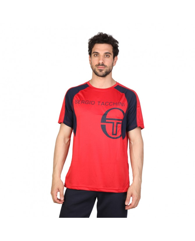 tacchini tee shirt pour homme rouge. Black Bedroom Furniture Sets. Home Design Ideas